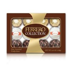 Ferrero Collection Rondnoir with Hazelnut Center Chocolate Collection 12 Piece Gift Box - http://mygourmetgifts.com/ferrero-collection-rondnoir-with-hazelnut-center-chocolate-collection-12-piece-gift-box/