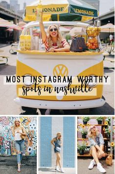 Taking a trip to Nashville soon? You'll want to check out these Instagram worthy spots while you're there. Nashville travel guide | Instagram worthy spots in Nashville | Nashville travel | travel to Nashville | best spots in Nashville