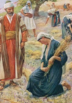 Ruth by Harold Copping ~ Old Testament art