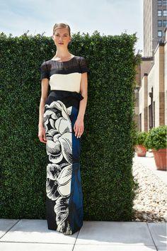 Carolina Herrera, Весна-лето 2014, Resort, Нью-Йорк
