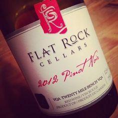 Flat Rock Cellars Pinot Noir Twenty Mile Bench 2012 #dansmonverre