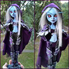 #doll #dolls #repaint #remake #custom #aesthetic #monster #high #monsterhigh #ooak