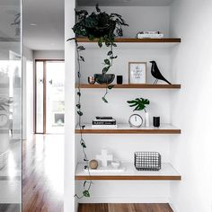 We need to create leafy shelving like this!