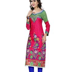 Buy E-Ware women cotton digital print unstiched kurti. by undefined, on Paytm, Price: Rs.225?utm_medium=pintrest