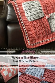 This Amazing Blanket For Sofa Crochet Pattern Is The Perfect Stress Buster - Knit And Crochet Daily Easy Crochet Projects, Diy Crochet, Crochet Hooks, Crochet Baby, Crochet Ideas, Crochet Afghans, Crochet Classes, Crochet Stitches Patterns, Knitted Blankets