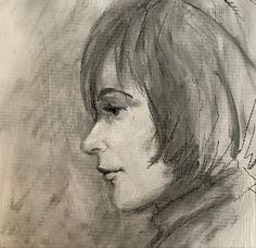 Artist Irene Schwarz #Charcoaldrawing Charcoal Artists, Charcoal Drawing, Irene, Portraits, Head Shots, Portrait Photography, Portrait Paintings, Headshot Photography, Portrait
