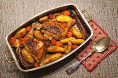 Chicken & sausage casserole, #casserole