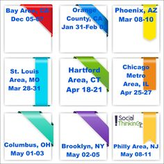 Upcoming conferences for 2016 and 2017
