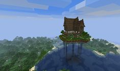 Medieval Houses (Floating island edition) by ~Pugwis on deviantART