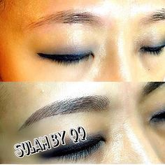 Today 39 s eyebrow tattoo for Eyebrow tattoo aftercare instructions