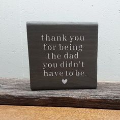 Step Dad Gift, Stepdad Gift, Gift for Stepdad, Father's Day Gift for Stepdad Tolle Geschenkide Easy Father's Day Gifts, Unique Gifts For Dad, Diy Gifts For Dad, Great Father's Day Gifts, Dad Gifts, Morhers Day Gifts, Stepdad Fathers Day Gifts, Fathers Day Quotes, Dad Quotes