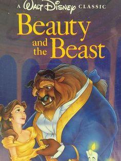 Disney VHS Black Diamond The Classics Beauty And The Beast