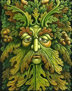 Oak King by ravenscar45.deviantart.com on @DeviantArt