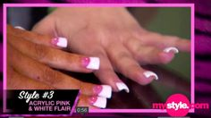 i wanna get my nails done like this at least once lol :) Fabulous Nails, Perfect Nails, Gorgeous Nails, Duck Feet Nails, Duck Tip Nails, Ghetto Nails, Fan Nails, Nail Tip Designs, Pearl Nails