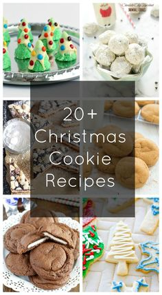 Over 20 cookie recipes that are perfect for Christmas!