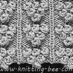 Grape Bobble Stitches Knitting Pattern