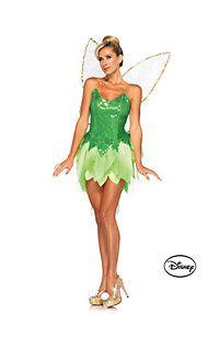 Women's Peter Pan's Pixie Dust Tinker Bell Disney Deluxe Costume