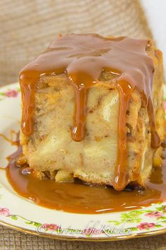 Bread Pudding is one of those old fashioned classic desserts, and this recipe for Apple Bread Pudding is exceptional.