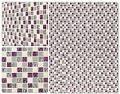 Glass Stone Blend - Glass Mosaic British Garden Series Iris