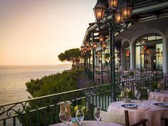 So romantisch: Die Terrasse des The Zass in Positano