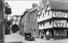 Castle Hill 1906 Lincoln England, Lincoln Uk, Nottingham, Past, Cathedral, Street View, City, Family History, Webtoon