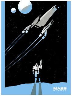 Salary Man – Mass Effect Posters | Geek Art – Art, Design ...