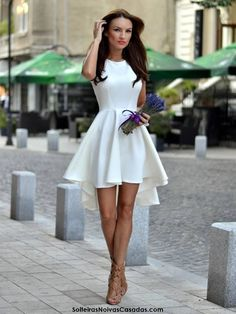 Homecoming Dresses Graduation Gowns Dresses Ball Gowns Evening Dresses - The most beautiful dresses and seasonal outfits Pretty Dresses, Sexy Dresses, Beautiful Dresses, Summer Dresses, Formal Dresses, Dresses 2016, Short White Dresses, Satin Dresses, Dresses Online