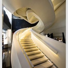 Armani Store - 5th Avenue. New York City - Designed by Massimiliano and Doriana Fuksas. #italian #architect #architecture #armani #lighting #dsigners #design #designer #interiordesign #interior #interiordesigner #decorating #style #stair
