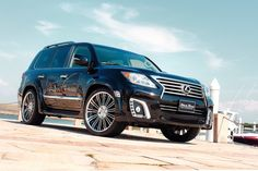 Wald International Lexus LX 570 Black Bison Edition
