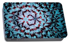 Portable Battery Charger featuring the photograph Kaleidoscope Df6 by Equad Images