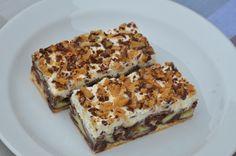 Víte, jak na Wiener Prater torte? Czech Recipes, Russian Recipes, Ice Cream Desserts, Mini Desserts, Wiener Prater, Surprise Recipe, Sandwich Cake, Healthy Dessert Recipes, Tarts