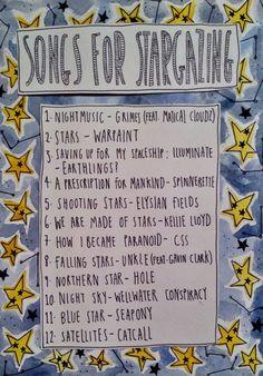 songs for stargazing