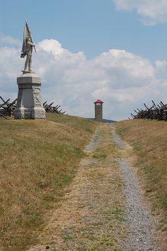 The Bloody Lane, Antietam National Battlefield, Sharpsburg, Maryland