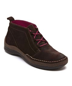 Look at this Jambu Brown Madison Suede Sneaker on #zulily today!