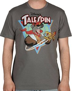 Mighty Fine Men's TaleSpin Shirt Charcoal Large