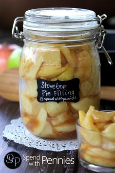 Apple Pie Filling Recipe! (Made on the stovetop!) - Spend With Pennies