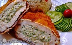 Zöldfűszeres, krémsajtos csirkemell Nutella, Pork, Meat, Chicken, Kale Stir Fry, Pork Chops, Cubs