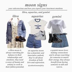 Geminis, all true Ravenclaw, Cool Outfits, Fashion Outfits, Womens Fashion, Retro Outfits, Aquarius Aesthetic, Zodiac Clothes, Zodiac Sign Fashion, Character Outfits