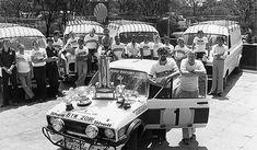 Ford Escort Mk II East African Safari Rally 1977. Bjorn Waldegard, Hans Thorselius