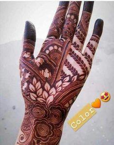 Henna Design By Fatima Khafif Mehndi Design, Floral Henna Designs, Mehndi Designs Feet, Latest Bridal Mehndi Designs, Full Hand Mehndi Designs, Mehndi Designs Book, Mehndi Designs 2018, Mehndi Design Pictures, Modern Mehndi Designs
