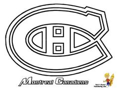 Nhl Teams Coloring Pages to Print Beautiful 29 Best Nhl Images Hockey Birthday Nhl Logos Logo Outline Montreal Canadiens, Mtl Canadiens, Hockey Birthday Cake, Hockey Party, Hockey Logos, Nhl Logos, Hockey Players, Coloring Pages To Print, Colouring Pages