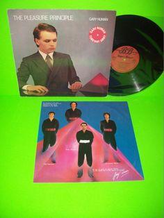 GARY NUMAN THE PLEASURE PRINCIPLE LP RARE GERMAN PRESSING 1979 SYNTH-POP CARS #GaryNuman #TubewayArmy #ElectronicaSynthPop
