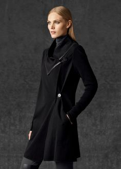 Punto Milano Folded Collar Jacket | Lafayette 148 New York