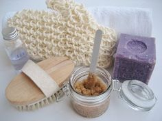 Exfoliante corporal casero / Homemade body scrub