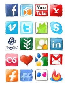 117 Social Network Icon Set To Spice Your Web