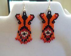 Beautiful Native American Style Beaded by BeadedCreationsetc