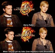 Hunger games: Jen loves Harry Potter!