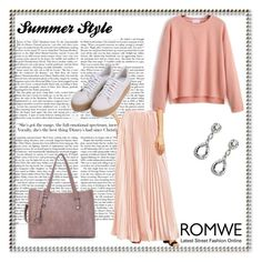 """""""ROMWE - 6/4"""" by thefashion007 ❤ liked on Polyvore"""