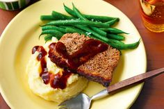 Browse some of best meatloaf recipes, with photos, and tips to help you cook the perfect meatloaf. Find your favorite recipe and share it with friends. Classic Meatloaf Recipe, Good Meatloaf Recipe, Best Meatloaf, Meatloaf Recipes, Veal Recipes, Cooking Recipes, Savoury Recipes, Meatloaf With Bbq Sauce, Sandwiches