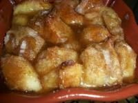 Bread Pudding is so easy and tastes amazing.  This would be a crowd favorite for breakfast!